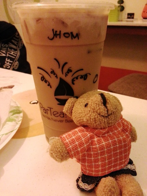 POU and the Milk Tea