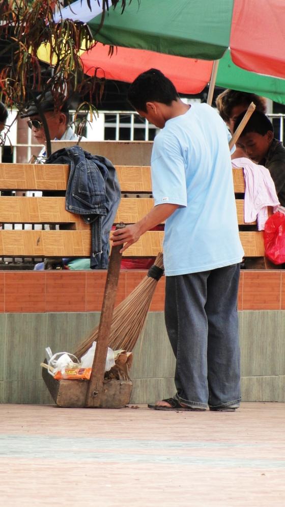 side sweeper