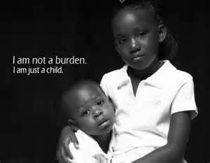 Children are not a burden!
