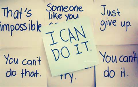 In sha Allah, I can do it!