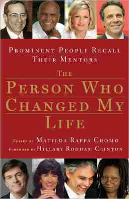 the person who changed my life essay The person who has change my life who has been a influence to you mom, dad, or anyone in your life well, there always that someone or person who has or h.